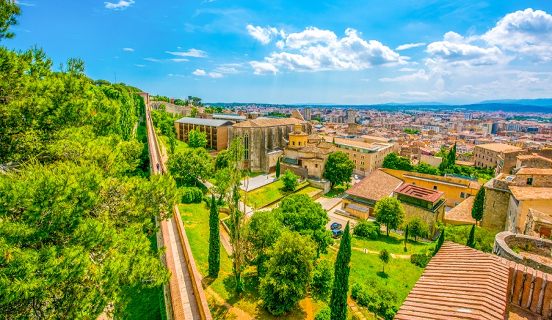 Wellness an der katalonischen Küste: Besonders sehenswert ist auch die Girona Cathedral. (#02)